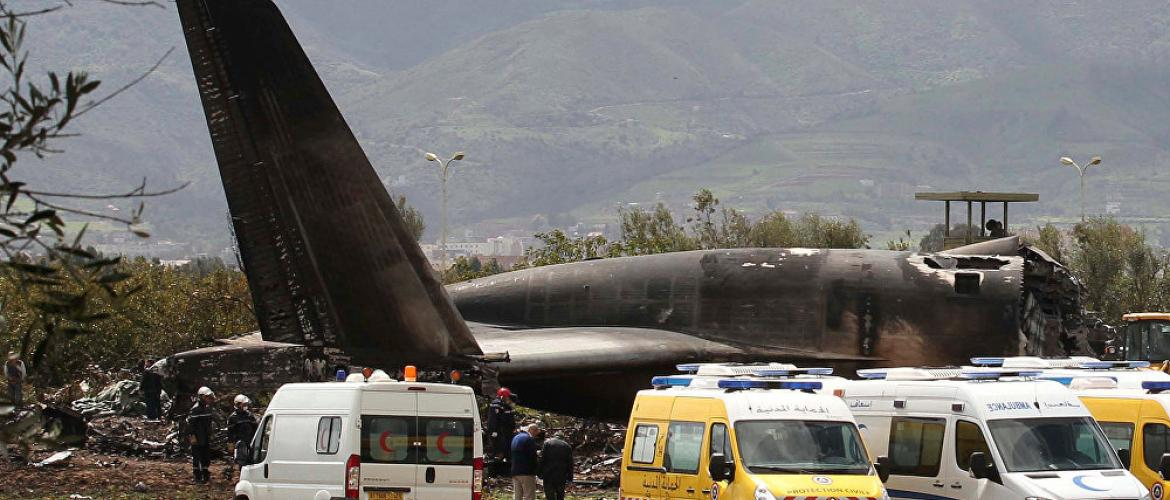 Algeria worst plane crash