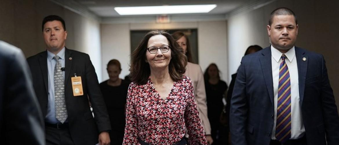 Haspel's the new CIA Director