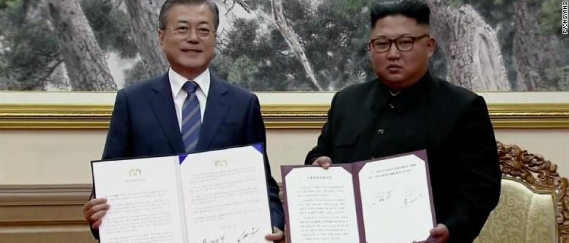 Koreas: Committed to era of no war