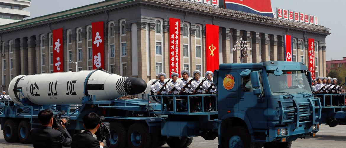 North Korea goes ballistic again