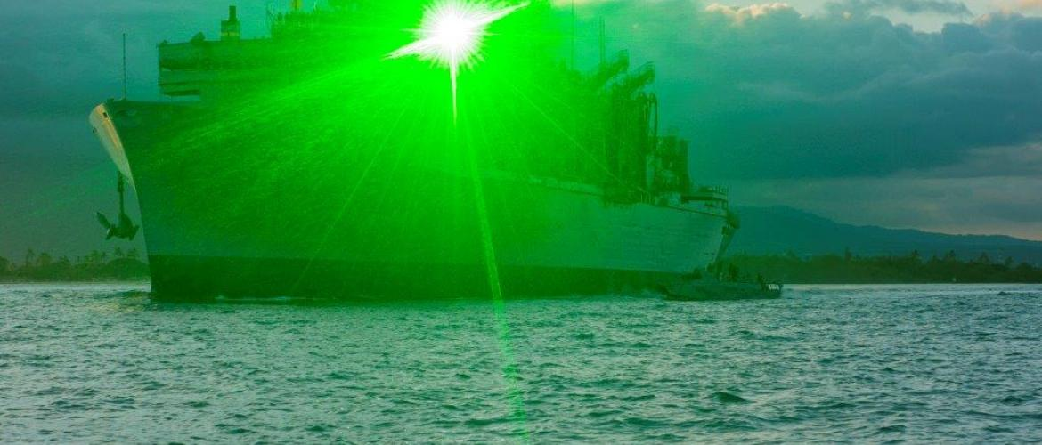 Laser attacks in South China Sea