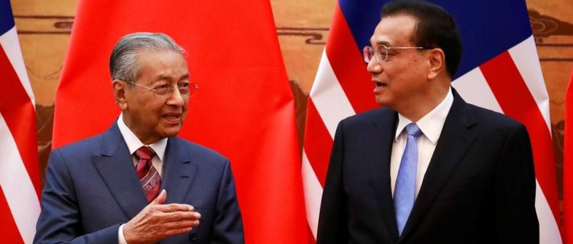 Malaysia Cancels Chinese projects worth $22B