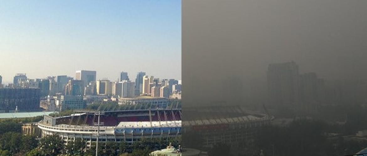 Beijing clear the air