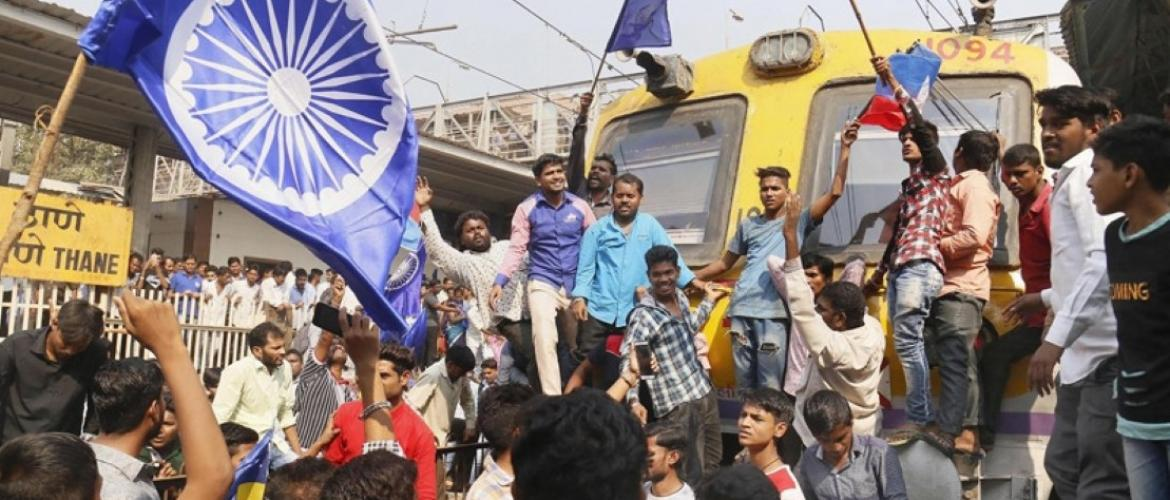 Clashes over caste system