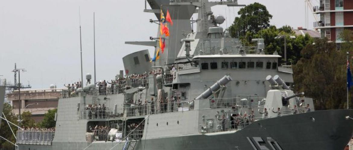 BAE Systems to build Australian warships