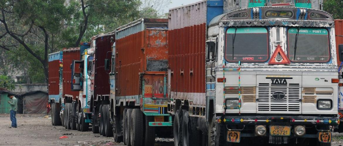 Indian Truckers End Strike