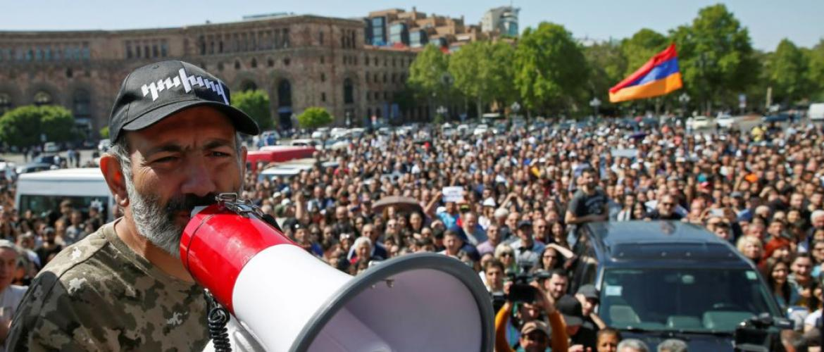 Armenian protests continue