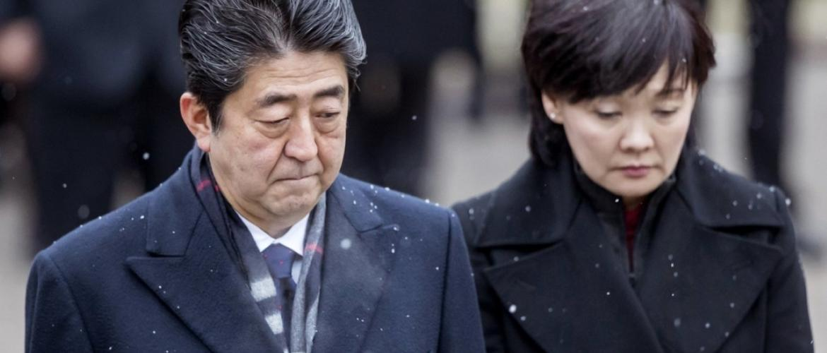 Fake documents shake Abe government