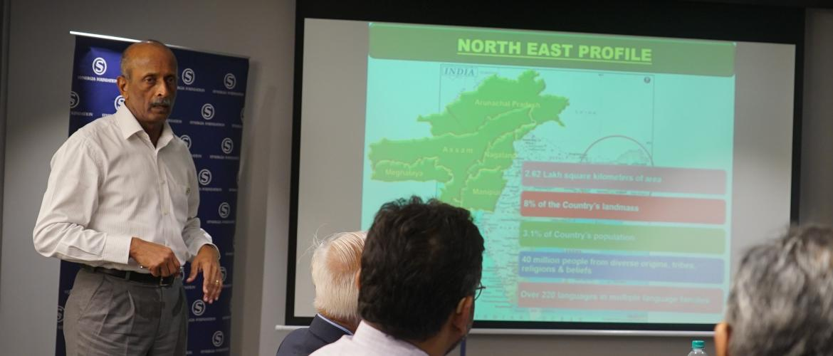 Future of Security: The North East Dimension