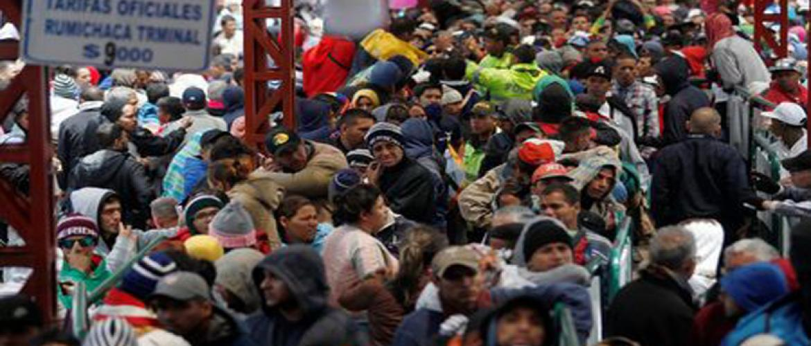 Ecuador tighten entry for Venezuelan migrants