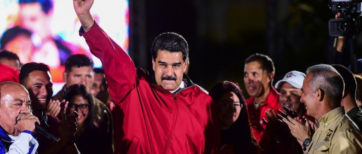 Maduro in power