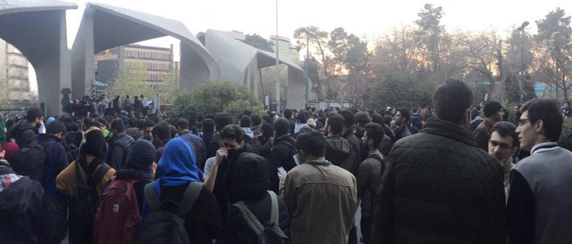 Israel to blame for Iran's protests?