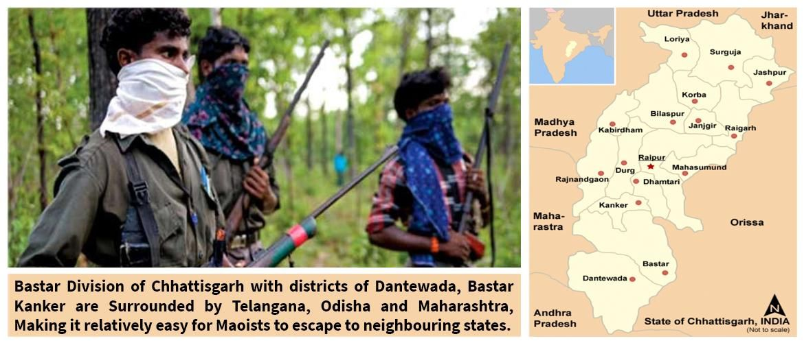 Maoist Forces: showdown at Bastar