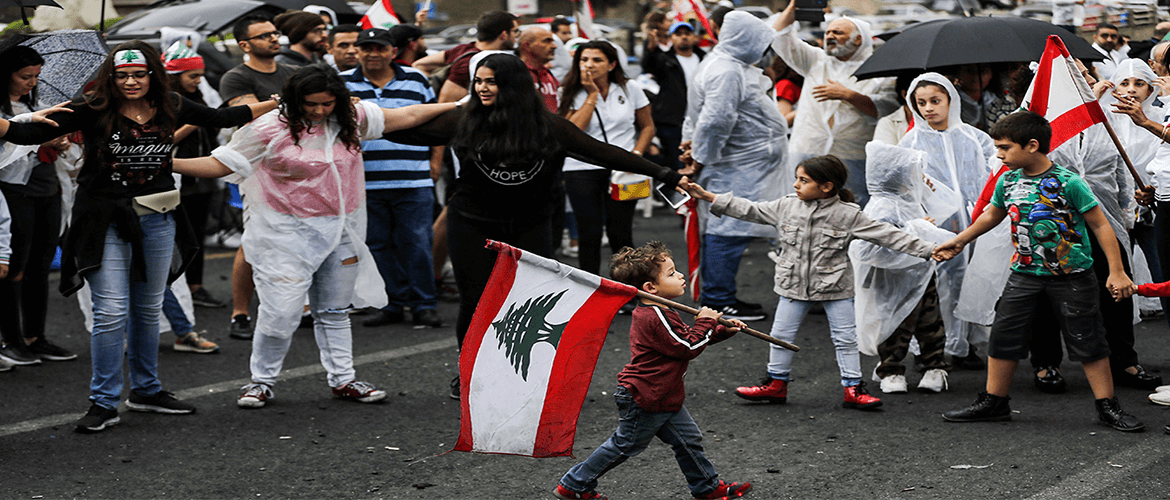 Lebanon's Choice — Relapse or Revolution