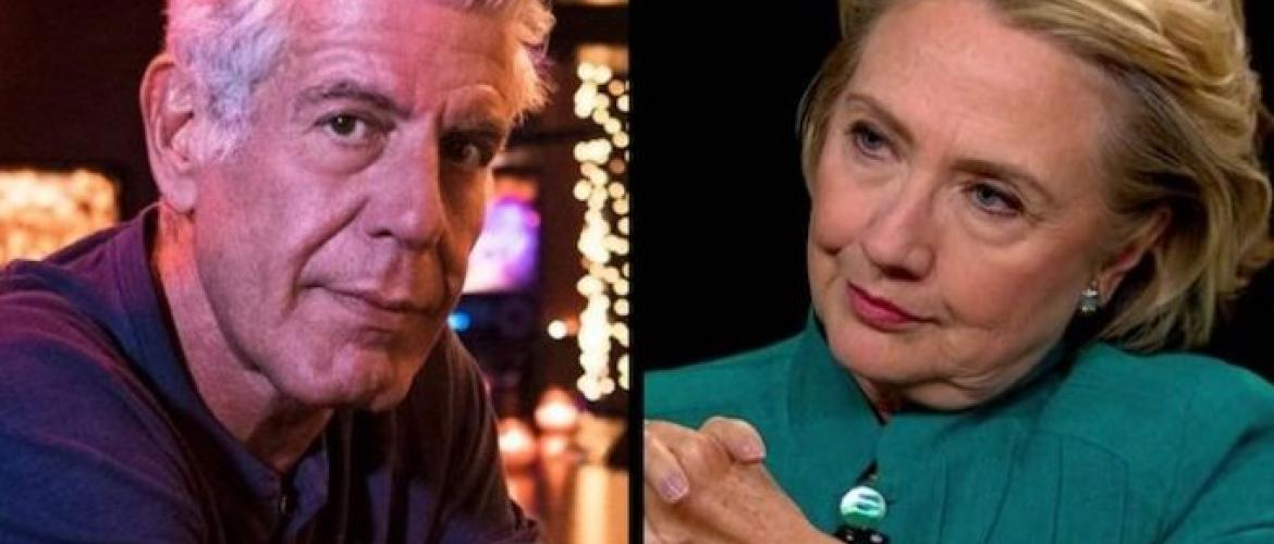 Was Anthony Bourdain Killed by Clinton Operatives?