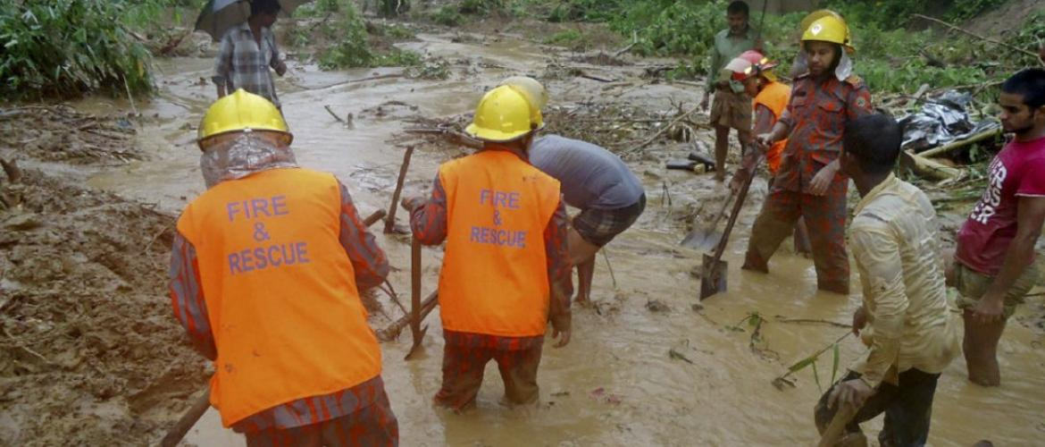 Dozens killed in Bangladesh landslides