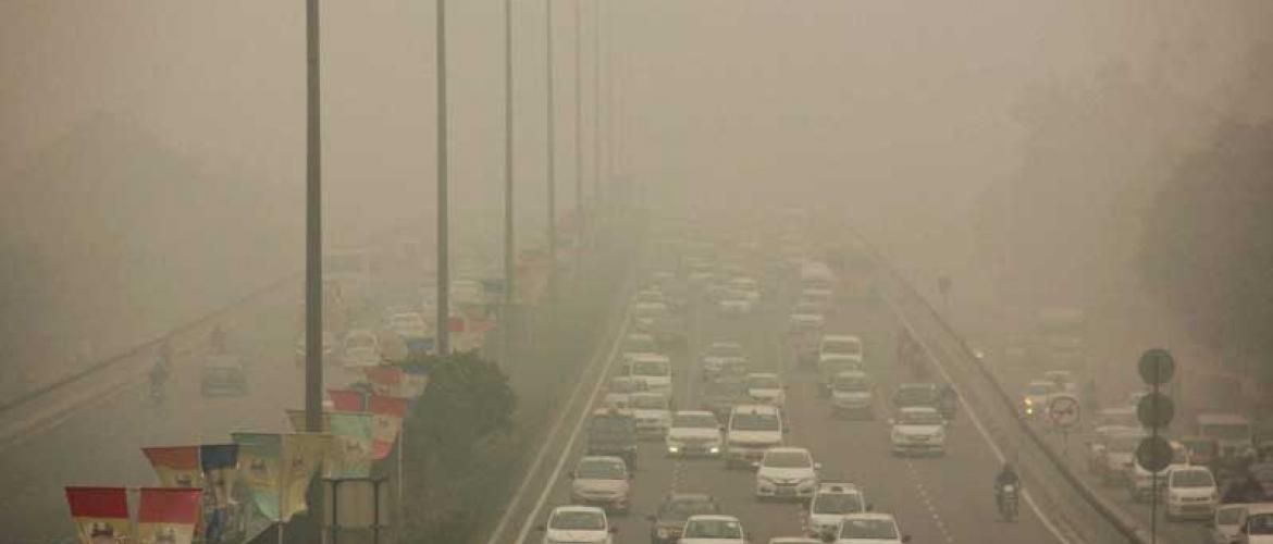 Dangerous air in Delhi