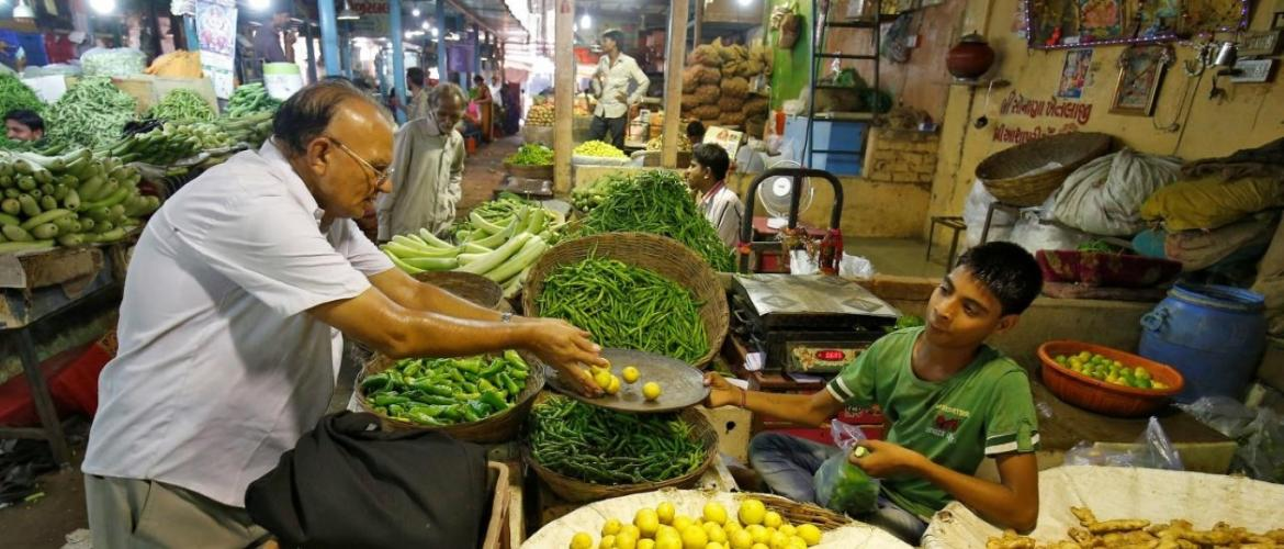 India's Retail Inflation at Five Month High