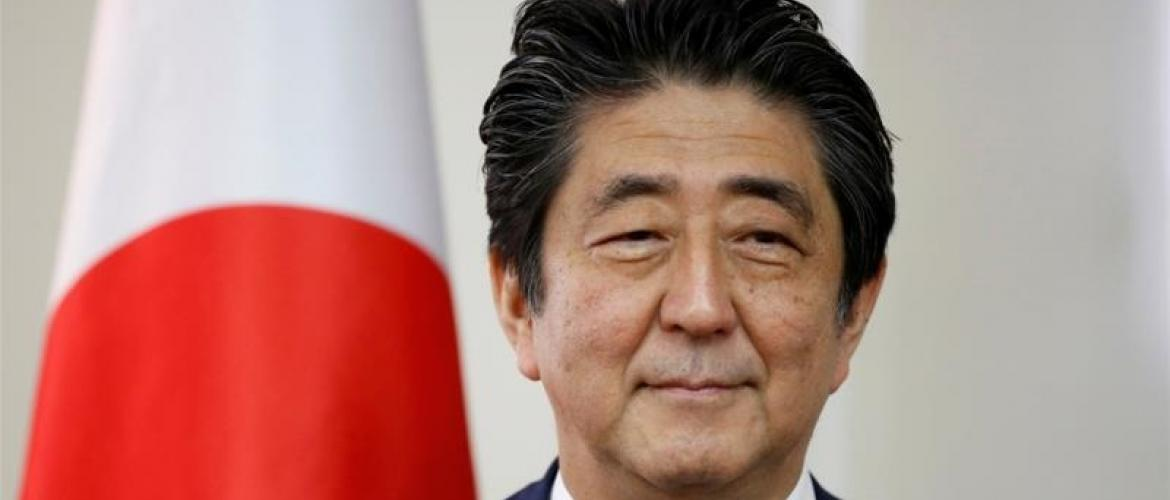 Abe expresses hope for global trade