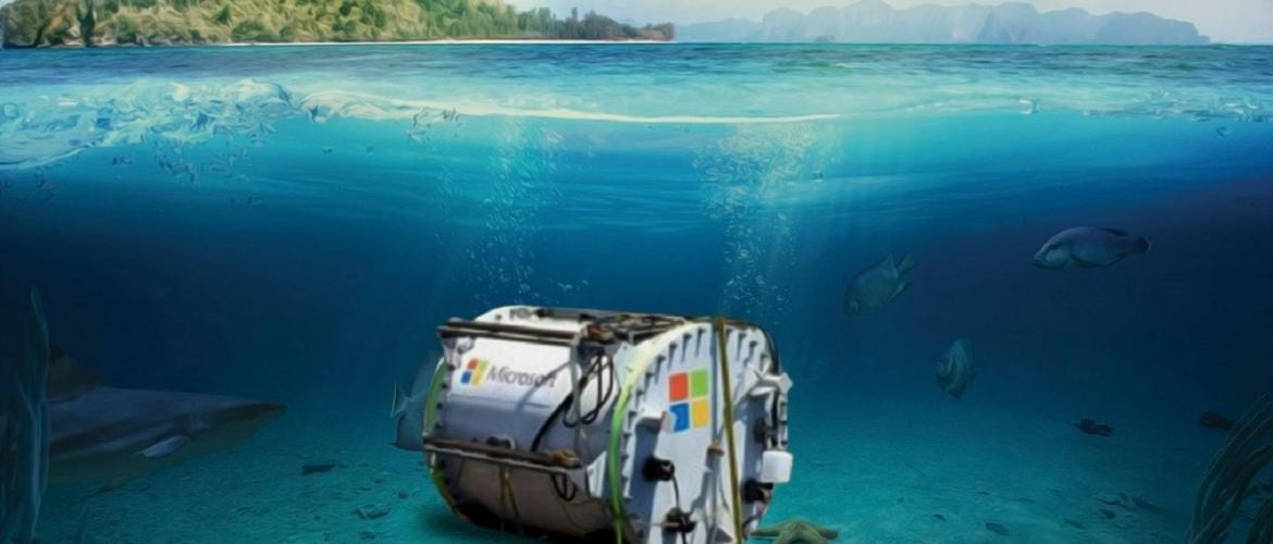 Microsoft goes Underwater