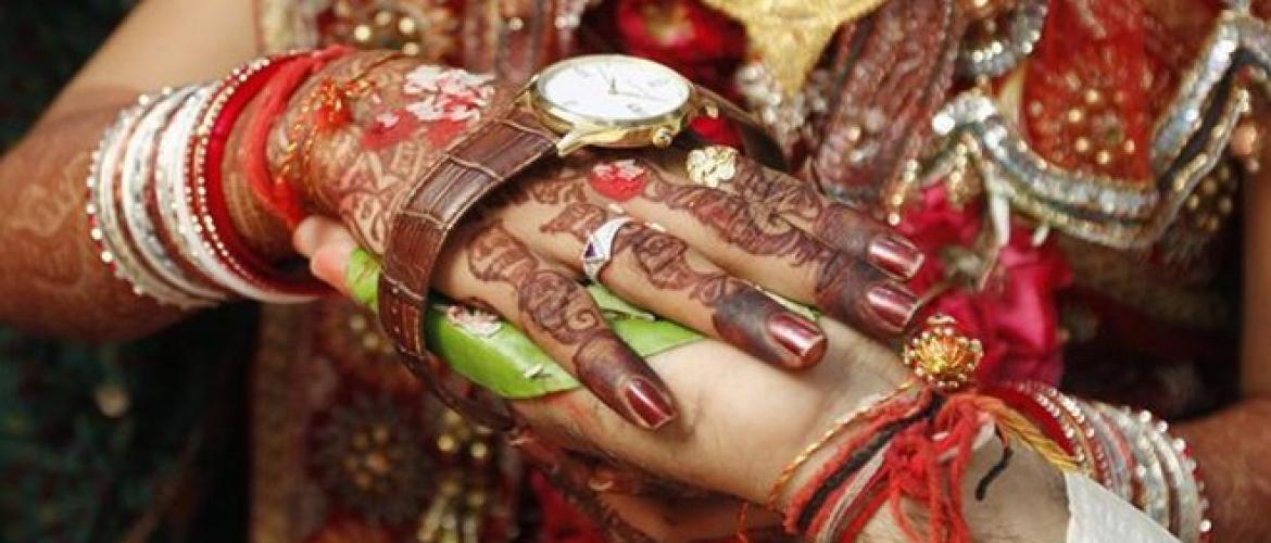 Regulation in marriage ceremonies