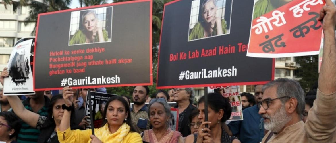 Justice for Lankesh