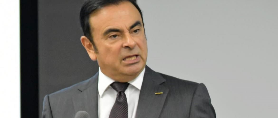 Carlos Ghosn re- arrested