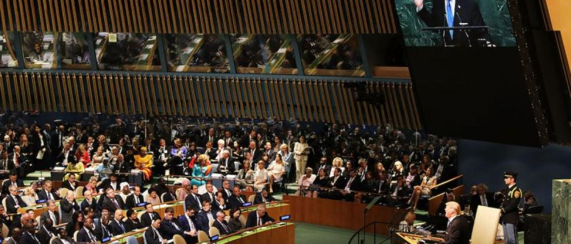 The 73rd UN General Assembly Debate