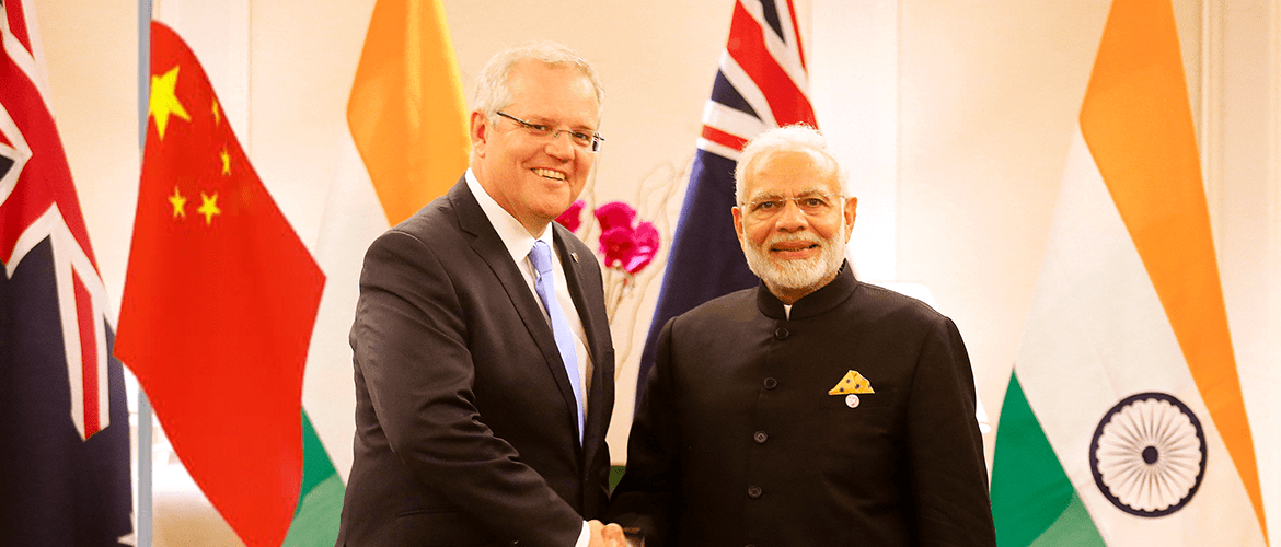 India and Australia: In the Dragon's shadow