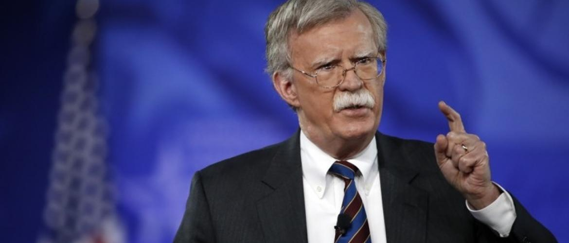 John Bolton issues stern warning to Tehran