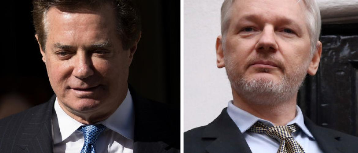 Julian Assange met with Paul Manafort?