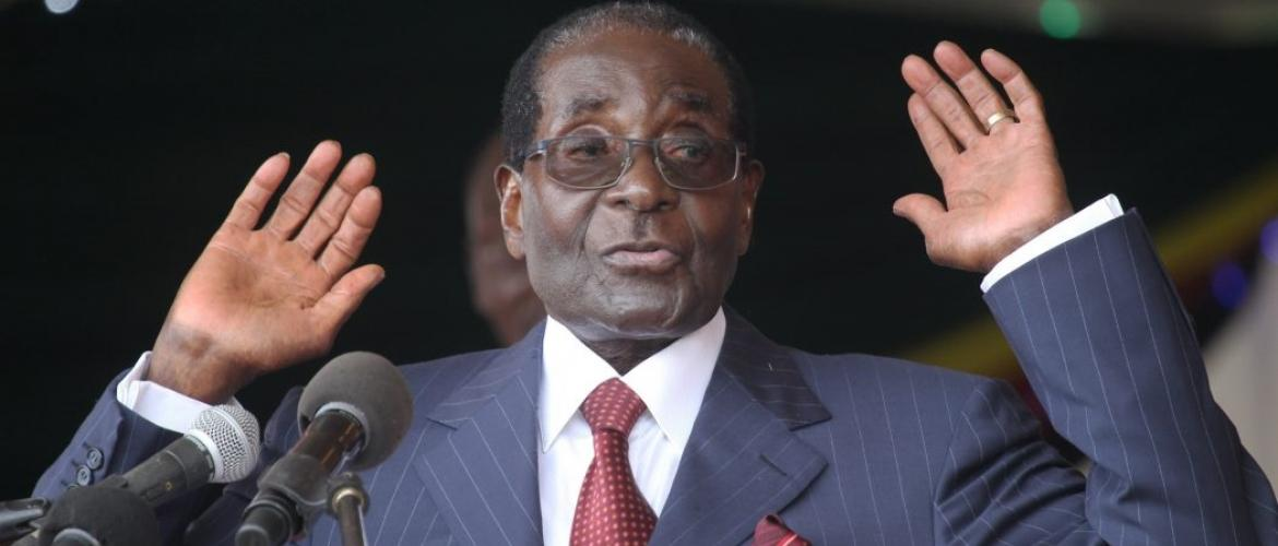 Mugabe in power