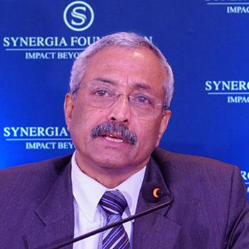Lt Gen (Dr) Prakash Menon , PVSM, AVSM, VSM; Former Commandant of the National Defence College (NDC)