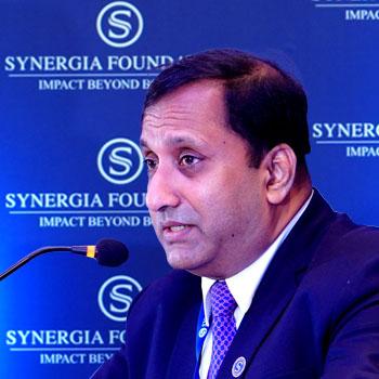 Tobby Simon, President of Synergia Foundation